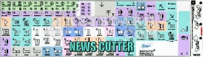 Click to enlarge newscuter keyboard sticker