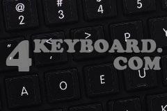 Mac Dvorak Keyboard sticker