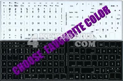 Click to enlarge Mac Dvorak stickers